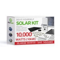 10000 Watt (10kW) DIY Solar Install Kit w/SolarEdge Inverter