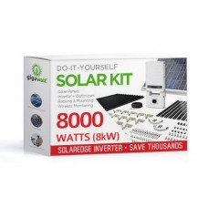 8000 Watt (8kW) DIY Solar Install Kit w/SolarEdge Inverter