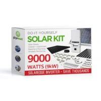 9000 Watt (9kW) DIY Solar Install Kit w/SolarEdge Inverter