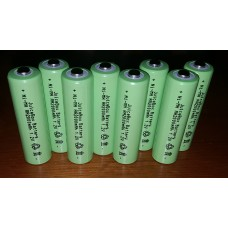 JuiceBox AA 2000mAh Ni-Mh Rechargable Consumer Battery (8 Pack)