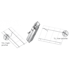 UniRac Fixed Tilt Leg, Clear, Qty. 1