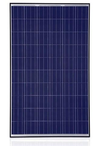 Trina Solar TSM-PA05.08, 255 Watt Solar Panel, 60 Cell Poly, Black