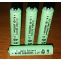 JuiceBox AAA 600mAh Ni-Mh Rechargable Consumer Battery (4 Pack)