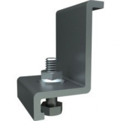 IronRidge End Clamp Black Finish, Qty. 4