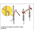 ProSolar Ground Trac Grade Stake Kit, A-GS-6