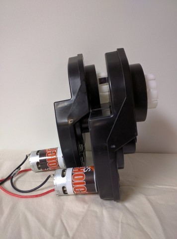 Power Wheels Motor Upgrade Kit with Gear Box (Sold in Pairs)
